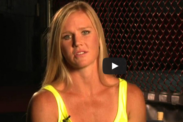 Holly Holm Talks About 'Beatable' Ronda Rousey