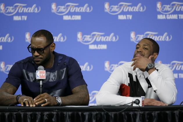 LeBron James' Departure Signals the Beginning of the End for Dwyane Wade