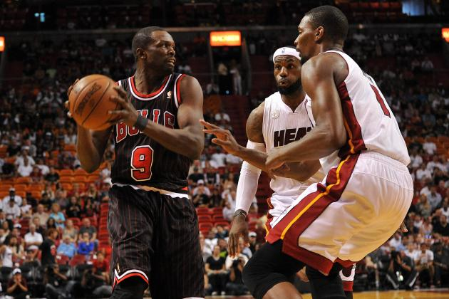 Luol Deng Can't Fill LeBron James' Shoes, but He Can Remove Them from View