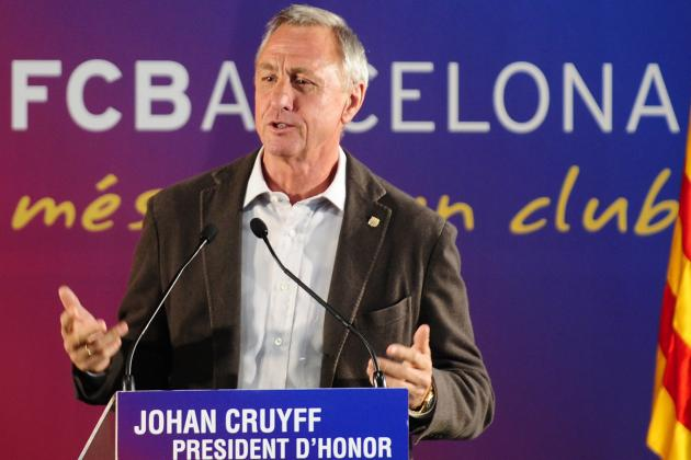 Why Johan Cruyff Needs to Keep His Nose out of Barcelona's Business