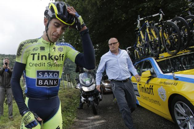 Alberto Contador Injury: Updates on Cyclist's Knee After Tour De France Crash