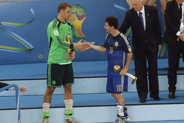 World Cup 2014 Awards: Results and Analysis for the Winners
