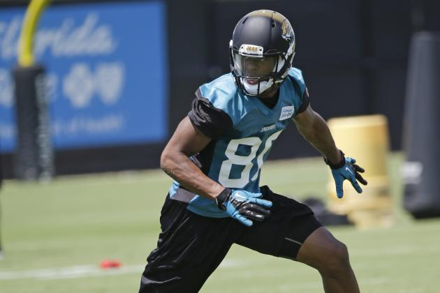 Challenging Route Ahead for Young Jaguars Receivers