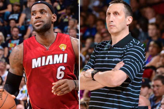 Addition of LeBron James Is  Just Latest Test for Cavs' New Coach David Blatt