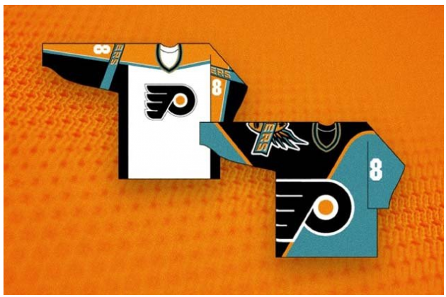 Philadelphia Flyers Nearly Had Teal Third Jersey (Photo)