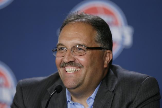 Stan Van Gundy Wasting No Time with Complete Detroit Pistons Makeover