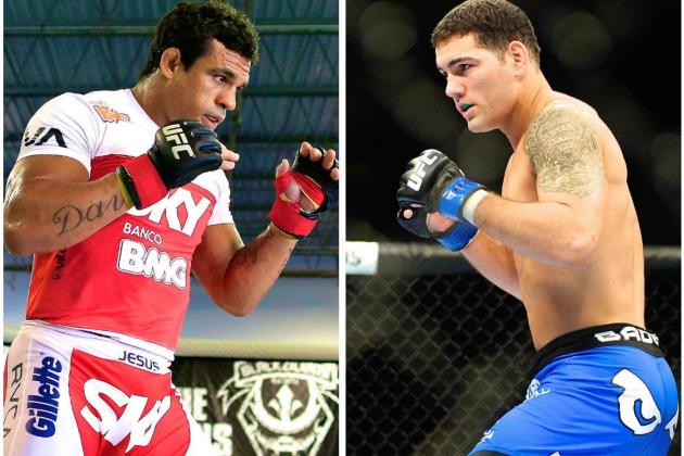 Chris Weidman Wants to Face 'Fighting Legend' Vitor Belfort Next
