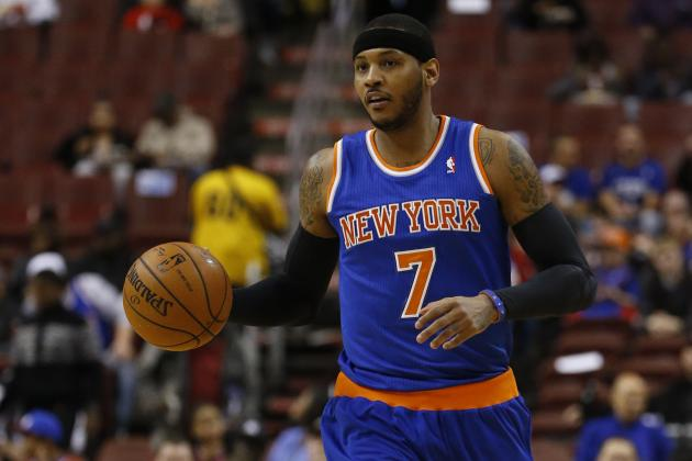 NBA News: Latest on Chandler Parsons, Carmelo Anthony and More