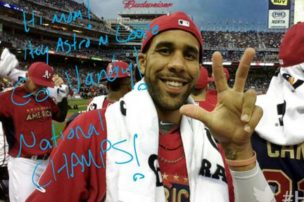 David Price Giving His Mom a Shout-out