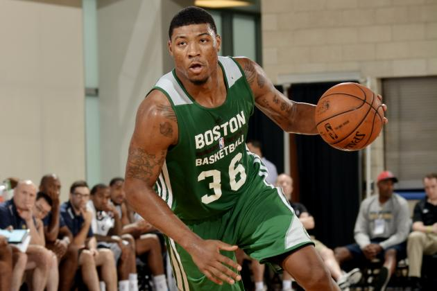 Realistic Expectations for Boston Celtics' Marcus Smart in 2014-15
