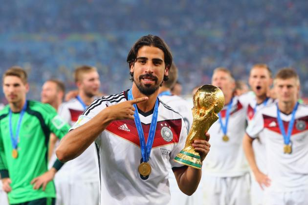 How Sami Khedira Would Fit into Arsenal's Starting Lineup