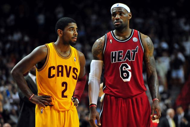 LeBron James' Return Puts New Level of Pressure on Kyrie Irving