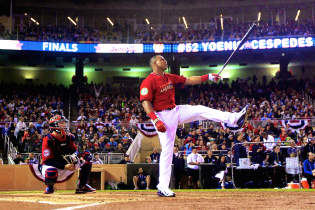 Yoenis Cespedes' Home Run Derby Display Shows He Performs Best on the Big Stage