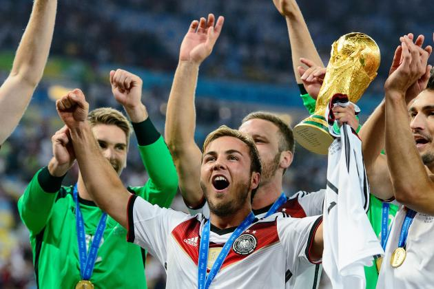 World Cup Hero Mario Gotze Proves He Has Mettle To Rival Lionel Messi