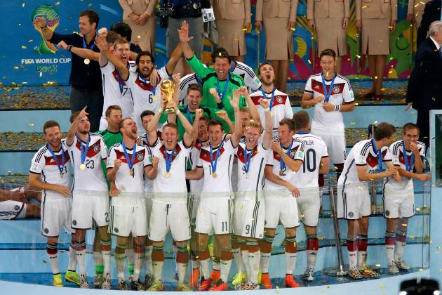 Germany World Cup Victory Parade 2014: Twitter Reaction, Photos, Videos, Recap