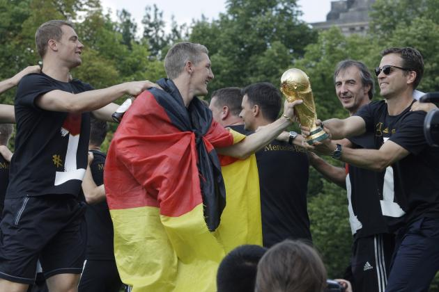 Germany World Cup Victory Parade Route 2014: Most Memorable Moments