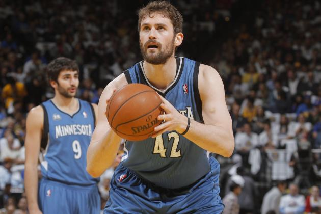 NBA Trade Rumors: Latest Buzz Around Kevin Love, Amar'e Stoudemire and More