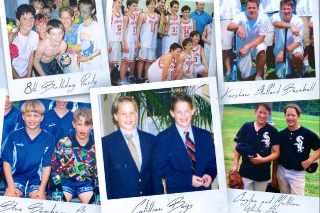 Clayton Kershaw and Matthew Stafford: The Wonder Years