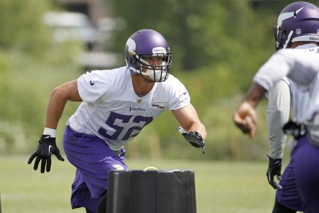 Minnesota Vikings training camp preview: Linebackers