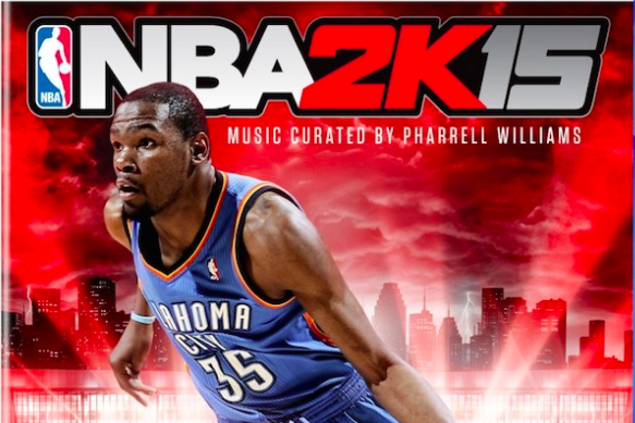 NBA 2K15: Music Curator and Kevin Durant Cover Art Revealed