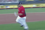 Fat Joe Running in Celeb Softball Game Is Awesome