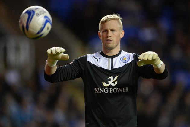 Watch Kasper Schmeichel's Incredible Bicycle-Kick Golazo