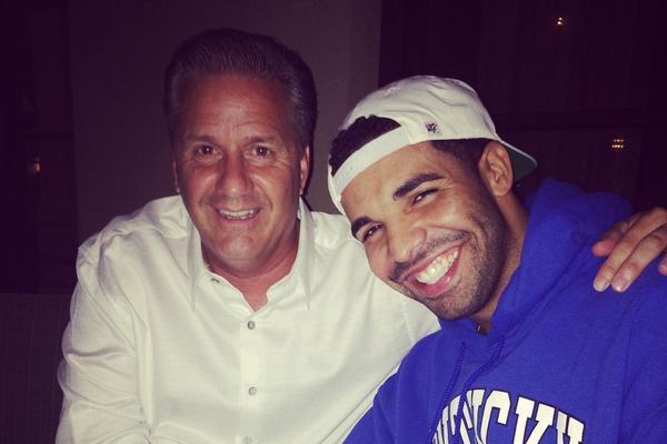 Photo: Calipari Posts Photo of Dinner with Drake