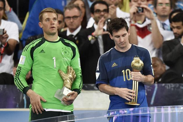 Lionel Messi Becomes 5th Straight Golden Ball Winner Not to Win World Cup