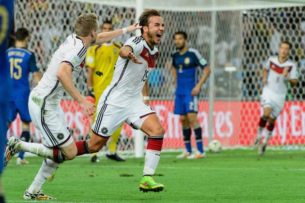 Germany Becomes 3rd Country to Win World Cup at Least 4 Times