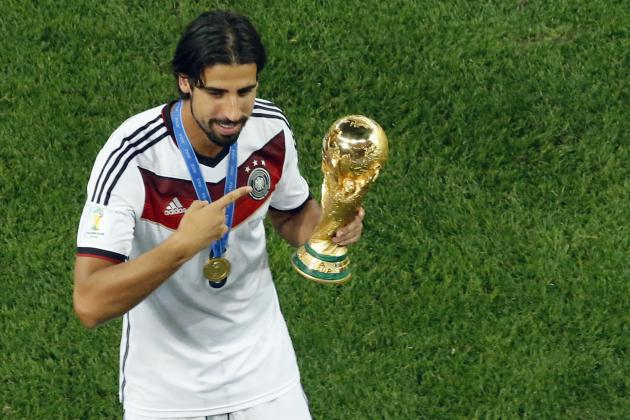 Germany's Sami Khedira 10th to Win World Cup and European Cup in Same Year