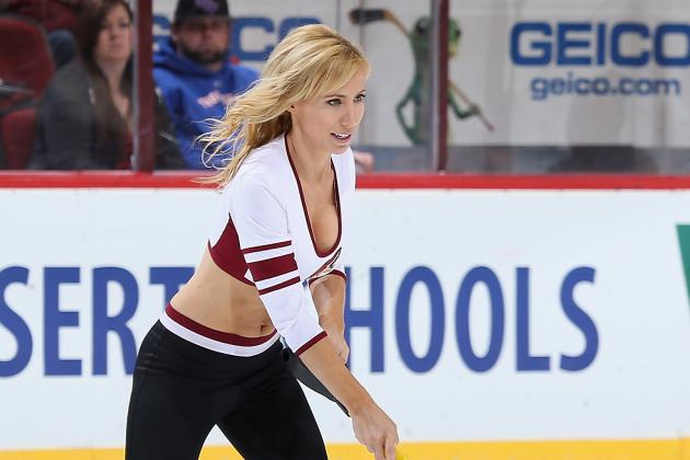 Group of Sharks Fans Outraged over Team's Recruitment of 'Ice Girls'
