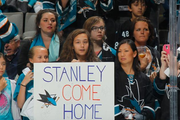 Sharks Fans Threatening to Cancel Season Tickets Over Ice Girl Uniforms