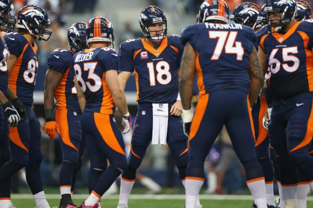 Broncos to Wear Alternate Blue Uniforms in Week 7 at Night vs. 49ers