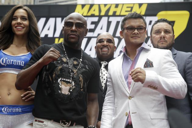 Floyd Mayweather Says Facing Marcos Maidana Is Like Battling an MMA Fighter