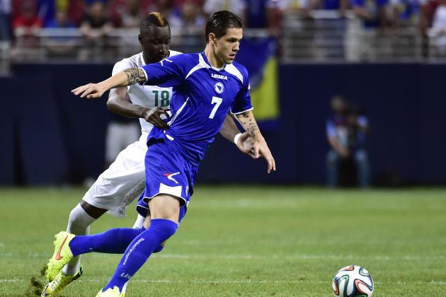 Everton Close in on £4m Deal for Bosnia's Muhamed Besic