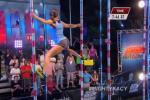 Female Gymnast Owns 'American Ninja Warrior' Course