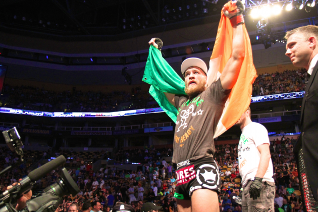 Conor McGregor Feeding Off Pressure and Expectation Heading into Fight Night 46
