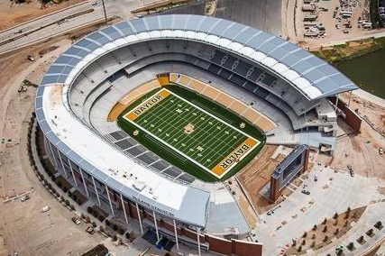 Aerial Photo of McLane Stadium