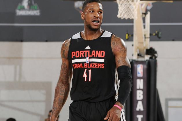 Thomas Robinson Injury: Updates on Blazers Forward's Thumb and Return