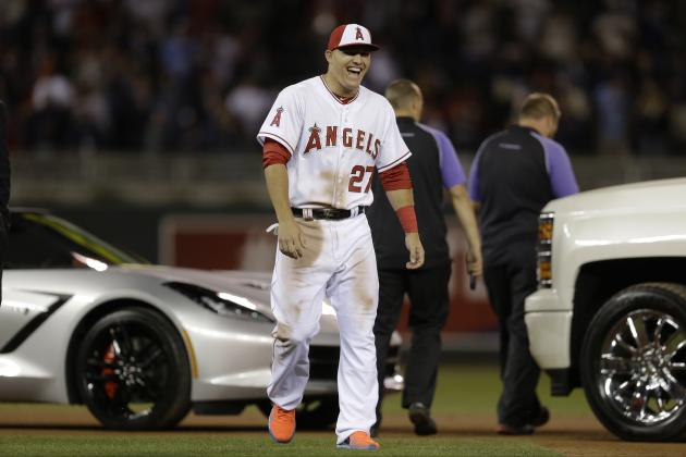 Mike Trout Wins 2014 MLB All-Star Game MVP