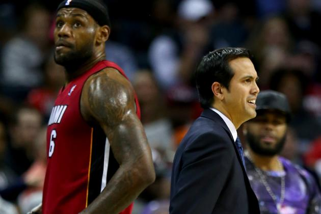 Spoelstra: 'No Regreats' on LeBron's Departure from Heat