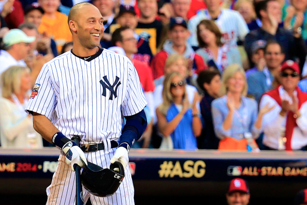 Reverence, Controversy and 2 Hits for Derek Jeter in Final All-Star Game