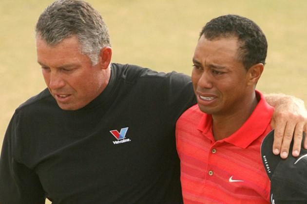 Then and Now: Tiger Woods Back at Royal Liverpool After Emotional 2006 Title