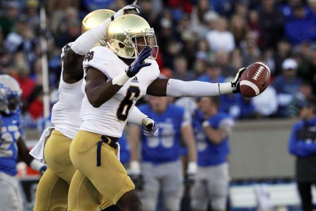 Notre Dame Football: Cornerbacks Will Set the Tone for Irish's Defense in 2014