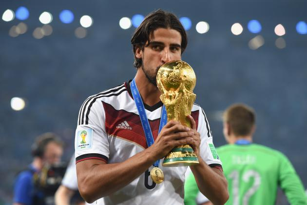 Reported Sami Khedira Transfer Fee Shows Arsenal Are Shopping off the Top Shelf