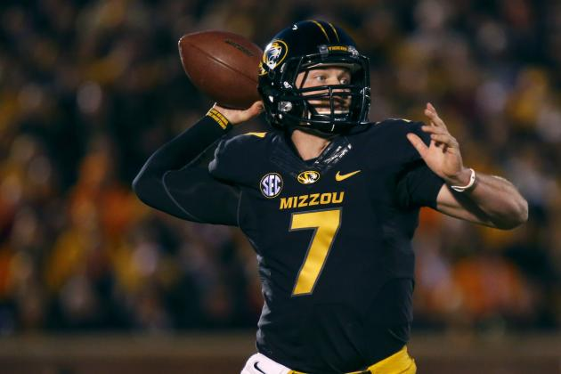 Mizzou QB Mauk Loses Weight from Infection
