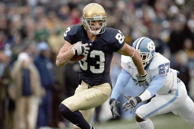 Notre Dame Football: What If Jeff Samardzija Had Kept Playing Football?