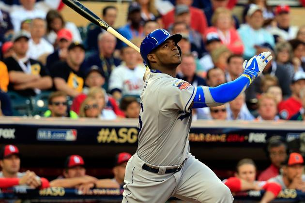 Puig Struggles in ASG but Still 'Happy'