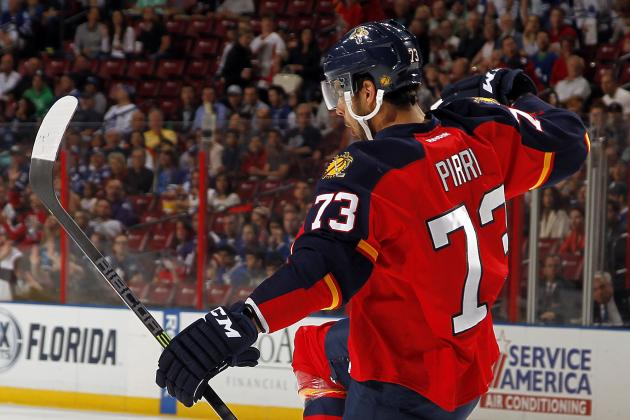 C Brandon Pirri Inks Two-Year Contract with Florida Panthers