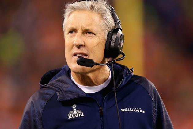 NFL.com: Seahawks' Pete Carroll No. 7 Head Coach in League